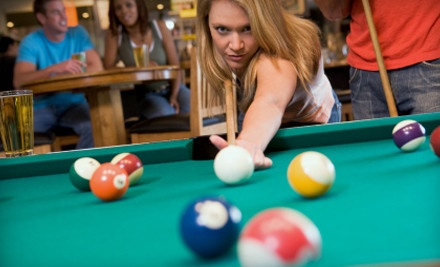 $30 Groupon to Mill Cue Club  - Mill Cue Club in Tempe