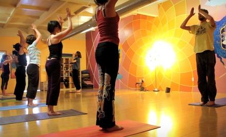 5 Yoga Classes (a $50 value) - DiviniTree Yoga and Arts Studio  in Santa Cruz