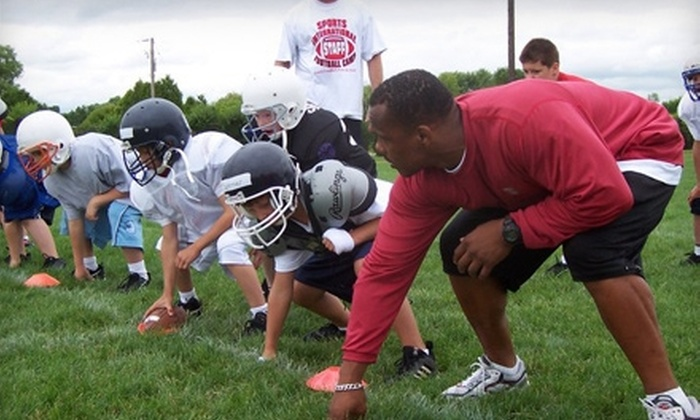 Sports International Football Camps - Norwalk-La Mirada: $149 for Sports International Football Camps With San Diego Chargers Cornerback Antoine Cason in Norwalk ($299.97 Value)