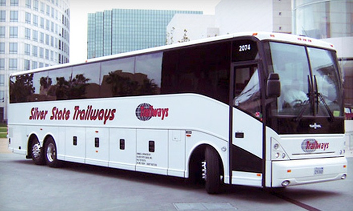 Silver State Trailways - Multiple Locations: $24 for Round-Trip Charter Bus Ride to Los Angeles from Silver State Trailways ($50 Value)