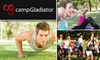 Camp Gladiator: $69 for Four Weeks of Unlimited Sessions at Camp Gladiator ($160 Value)