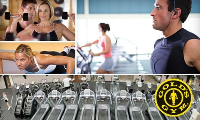 Gold's Gym - Multiple Locations: $40 for a Two-Month Membership Plus a Fitness Assessment at Gold's Gym ($99.98 Value)