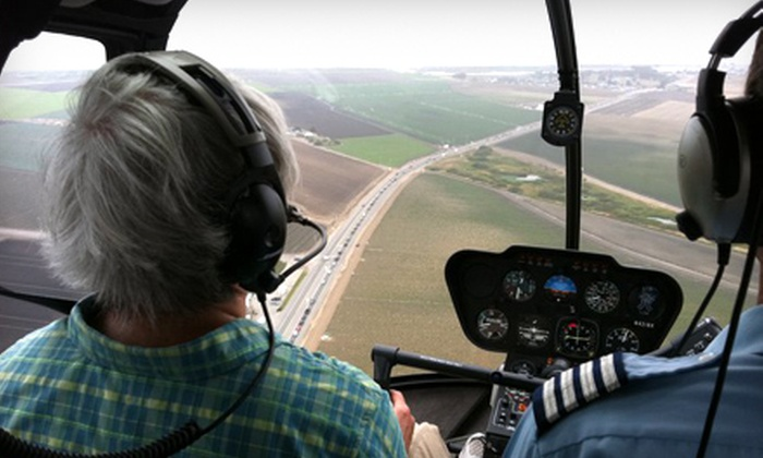 Specialized Helicopters - Watsonville: $125 for a Helicopter Flight-Training Experience from Specialized Helicopters ($250 Value)
