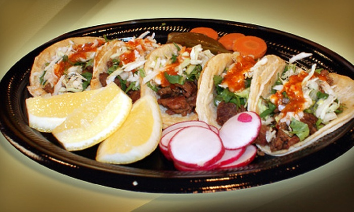 Amapola Rico Taco - Multiple Locations: $6 for $12 Worth of Mexican Fare at Amapola Rico Taco
