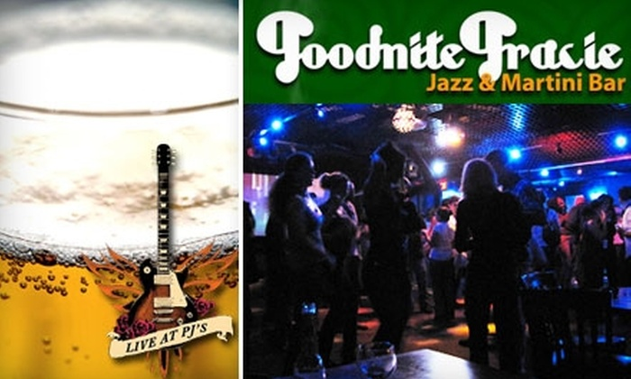 Goodnite Gracie's and Live at PJ's - Bach: $18 for Cover for Two and a Bucket of Beers at Goodnite Gracie's & Live at PJ's (Up to $40 Value)