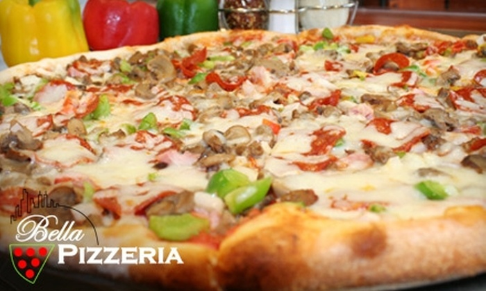 Bella Pizzeria - Multiple Locations: $10 for $20 Worth of Pizza and More at Bella Pizzeria