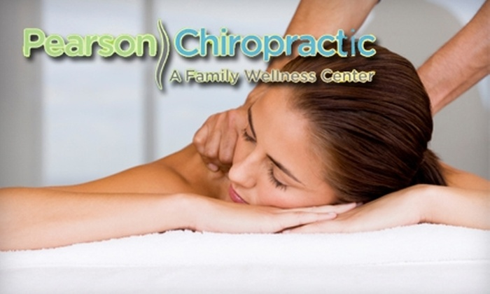 Pearson Chiropractic: A Family Wellness Center PC - South Central Omaha: $35 for One-Hour Deep-Tissue Massage with Nerve Scan ($120 Value) or $60 for Three Ionic Foot-Bath Treatments with Nerve Scan (Up to $140 Value) at Pearson Chiropractic: A Family Wellness Center PC