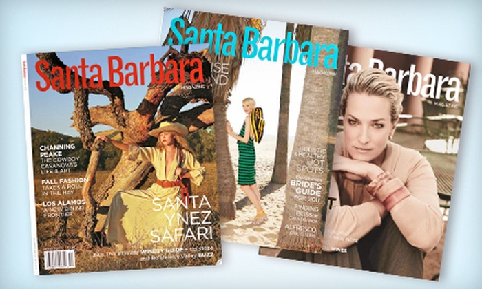"""Santa Barbara Magazine"" - Scarsdale: One- or Two-Year Subscription to ""Santa Barbara Magazine"" (Half Off)"