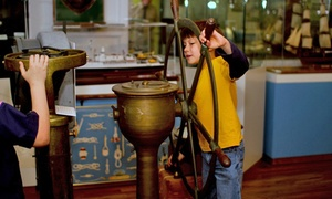Houston Maritime Museum: Full-Day Houston Maritime Museum Visit for Two, Four, or Six (Up to 50% Off)