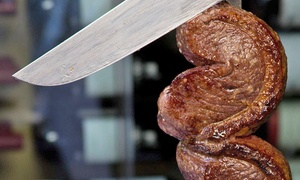 Porcao Churrascaria: All-You-Can-Eat Brazilian Dinner for Two or Four with Wine at Porcão Churrascaria (Up to 37% Off)