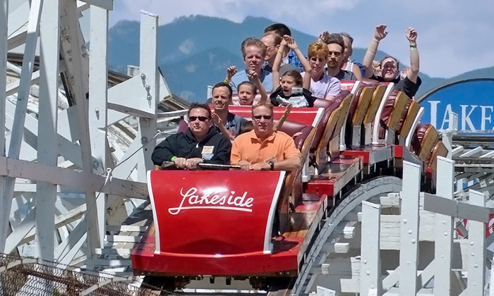 Lakeside Amusement Park - Lakeside Amusement Park: Admission and Unlimited Rides for Two or Four at Lakeside Amusement Park (Up to 44% Off)