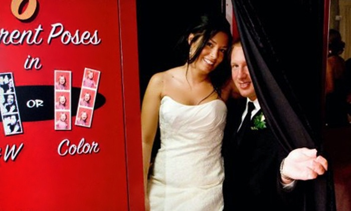 Maine Photo Booth Co. - Saco: $399 for a Five-Hour Photo-Booth Rental from Maine Photo Booth Co. ($1,250 Value)