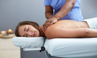 Back, Neck and Shoulder Massage with Option for Facial at Beauty At Soul Spa (Up to 58% Off)