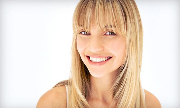 Kim Martin at Beyond Hair Salon & Spa - Amarillo: Men's or Women's Haircut Packages from Kim Martin at Beyond Hair Salon & Spa (Half Off). Four Options Available.