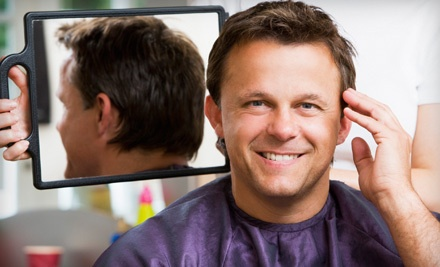 Signature Men's Haircut Package (a $39 value) - Barbers of the Low Country in Bluffton