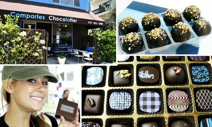 Compartes - West Los Angeles: $5 For $10 Worth of Artisan Chocolate, Gelato, and Coffee at Compartes Chocolatier