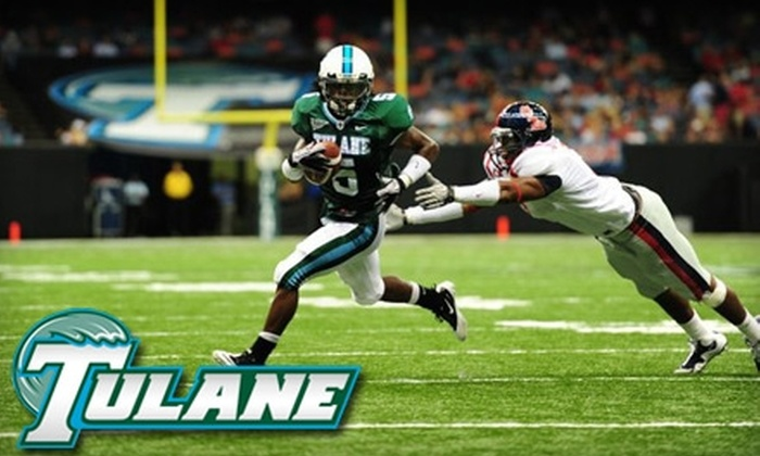 Tulane Football - New Orleans: Ticket to Tulane Football Homecoming Game vs. Army on October 9, 2010 (Up to $35 Value). Choose From Two Seating Options.