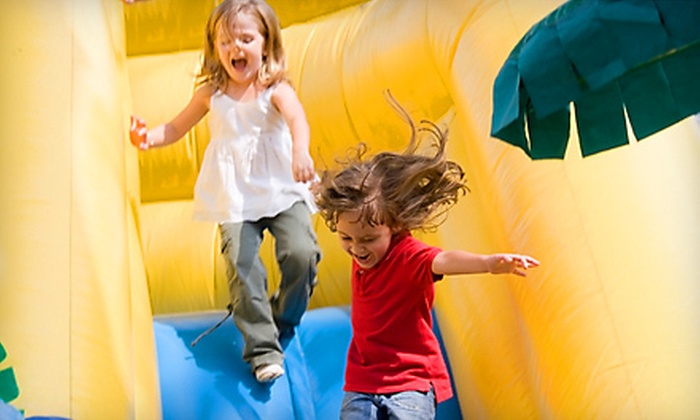 Orb Family Fun Center - Greenbrier West: $15 for an Indoor Play Outing for Four Kids with Juice and Popcorn at Orb Family Fun Center in Chesapeake ($39 Value)