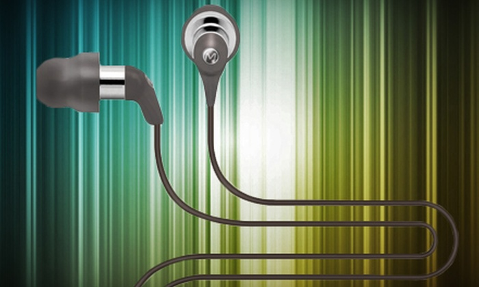 Maximo Products: $25 for Pair of iM-590 Earphones from Maximo Products ($59.99 Value)