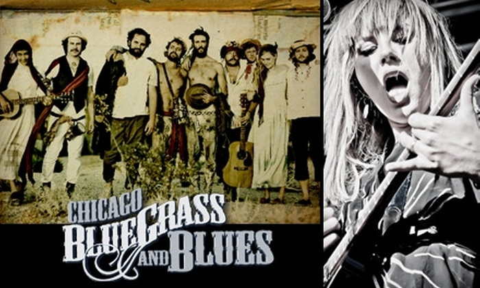 Chicago Blues & Bluegrass Festival - Bucktown: $50 for a Three-Day VIP Package to the Chicago Blues & Bluegrass Festival on December 3–5 ($100 Value)