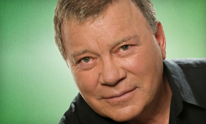 """How Time Flies: An Evening with William Shatner"" - Downtown Vancouver: An Evening with William Shatner at The Centre in Vancouver for Performing Arts (Up to 65% Off). Three Options Available."
