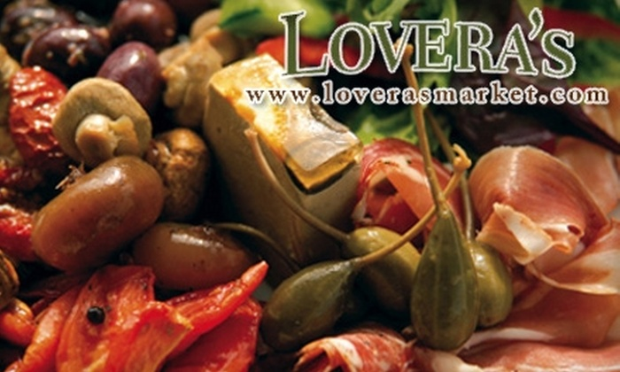 Lovera's Italian Market: $15 for $30 Worth of Home-Delivered Gourmet Italian Groceries from Lovera's Italian Market