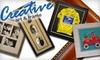 Creative Art & Frame - Masonville: $49 for $120 Worth of Custom Framing from Creative Art & Frame