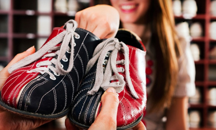 Sylvan Lanes Bowling Center - West Bloomfield: Bowling Outing for Four or Eight with Shoes and Meal at Sylvan Lanes Bowling Center in Sylvan Lake (Up to 71% Off)