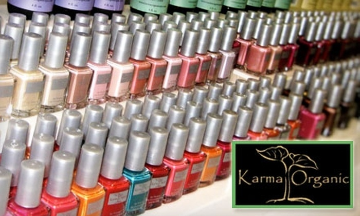 Karma Organic Spa: $10 for $20 Worth of Nail, Skin, and Body Products from Karma Organic Spa