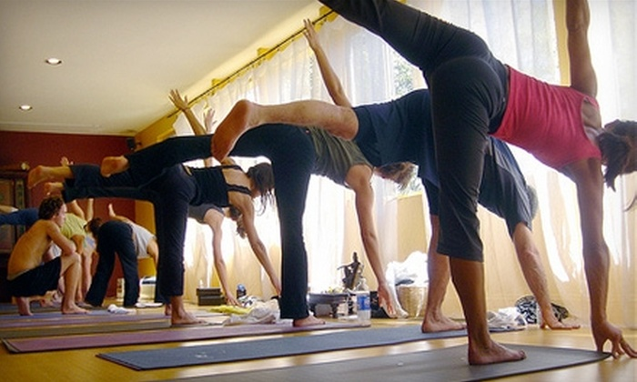 Groove Yoga - University of California Berkeley: $20 for a Five-Class Drop-In Card at Groove Yoga in Berkeley ($75 Value)