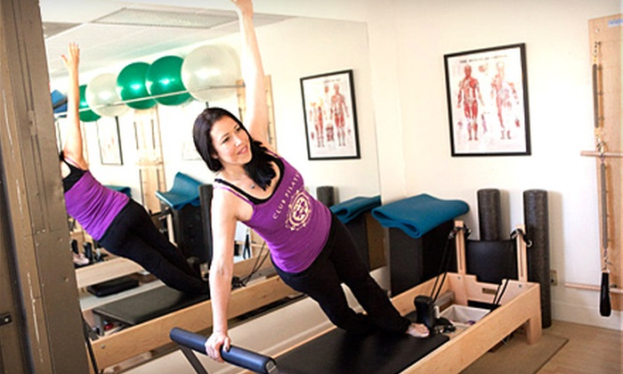 Club Pilates San Diego - Multiple Locations: $45 for Six Classes at Club Pilates San Diego (Up to $96 Value). Two Locations Available.