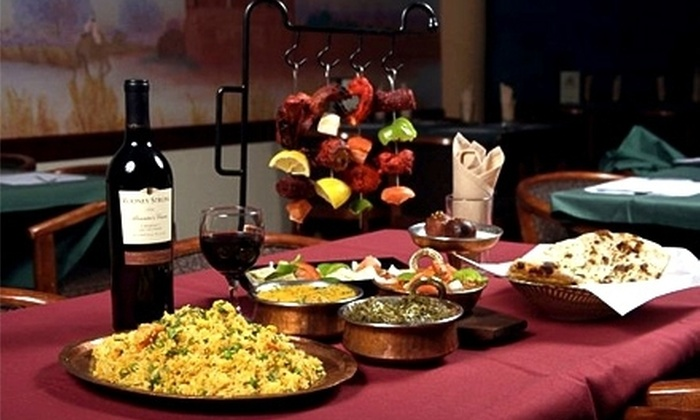 New Delhi Palace - Ward 2: Three-Course Meal with Drinks for Two or Four or $10 for $20 Worth of Indian Fare at New Delhi Palace