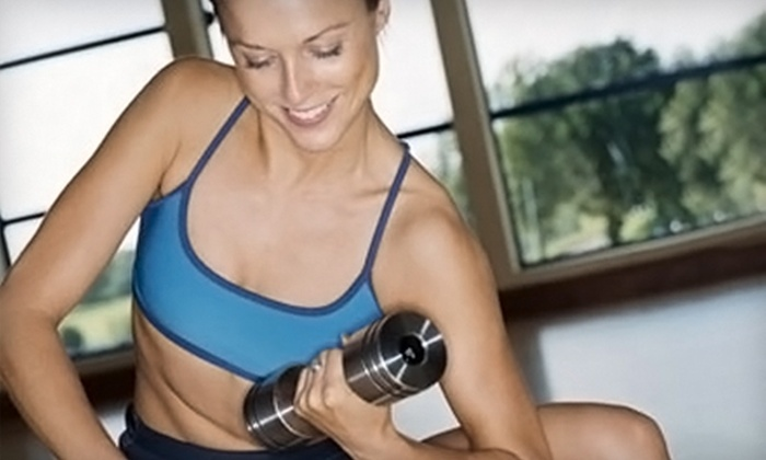 Fitness Premier - Multiple Locations: $59 for a One-Month Membership and Four Small-Group Training Sessions at Fitness Premier ($158 Value)