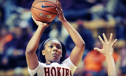 Virgnia Tech Hokies vs. Virginia Cavaliers at Cassell Coliseum on Sun., Feb. 19 at 2PM: General Admission for 2 - Virginia Tech Hokies in Blacksburg