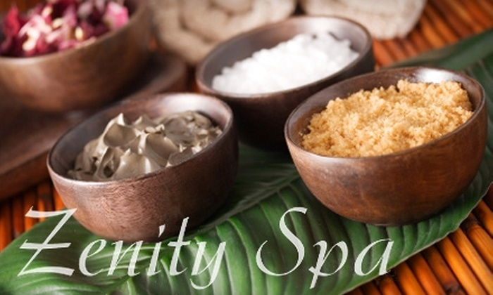 Zenity Spa - Allen: $69 for a Coconut-and-Lime Body Scrub and Wrap or an Inch-Loss Body Wrap at Zenity Spa ($150 Value)