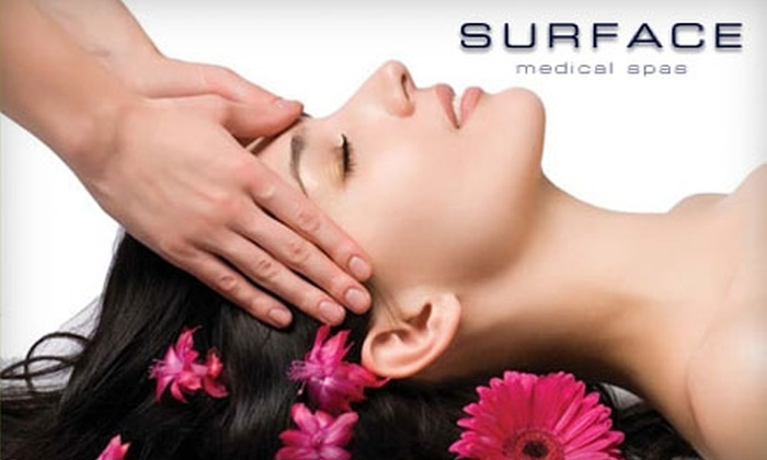 Surface Medical Spas - Multiple Locations: $30 for a 50-Minute Massage at Surface Medical Spas ($65 Value)
