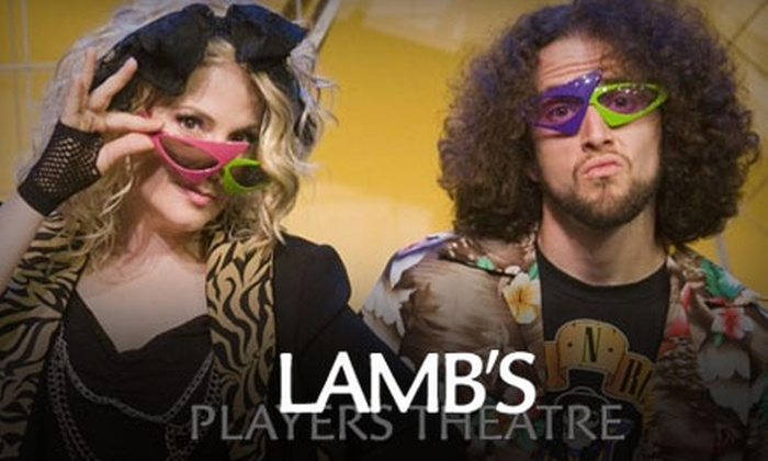 "Lamb's Players Theatre - Marina: $29 for Ticket to ""Mixtape: The Greatest Hits of the 80s - Live!"" Presented by Lamb's Players Theatre at the Horton Grand Theater (Up to $58 Value)"