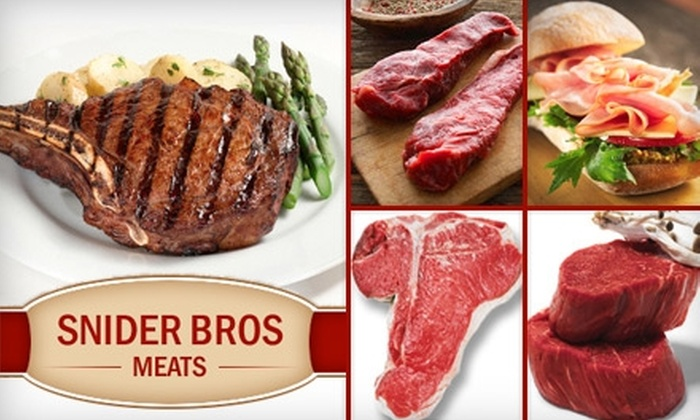 Snider Bros. Meats - Holladay: $10 for $25 Worth of Meat, Poultry & More from Snider Bros. Meats