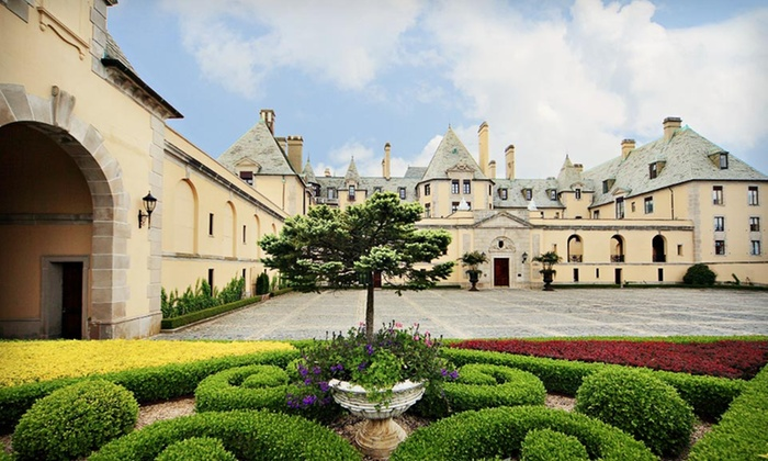 Oheka Castle Hotel and Estate - West Hills: One-Night Stay for Two and Castle Tour at Oheka Castle Hotel and Estate in New York
