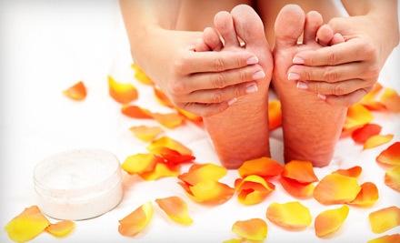 45-Minute Basic Manicure and Pedicure - C'est Trice Spa in Essex