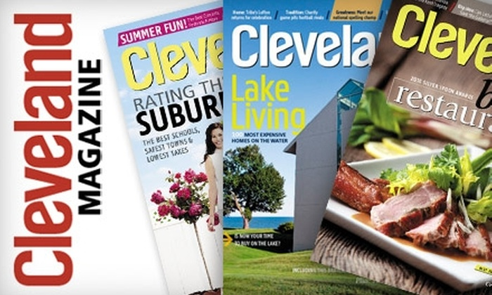 "<i>Cleveland</i> Magazine: $7 for a One-Year Subscription to ""Cleveland Magazine"" ($14.95 Value)"