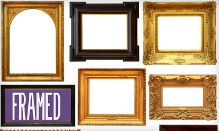 Framed - Hamden: $35 for $75 Worth of Framing Services at Framed in Hamden