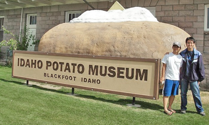 Idaho Potato Museum & Gift Shop - Blackfoot: Admission and T-Shirts for Two or Four at Idaho Potato Museum & Gift Shop (Up to 37% Off)