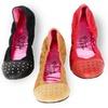 $26.99 for Paris Hilton Daisy Studded-Toe Cinch Flats