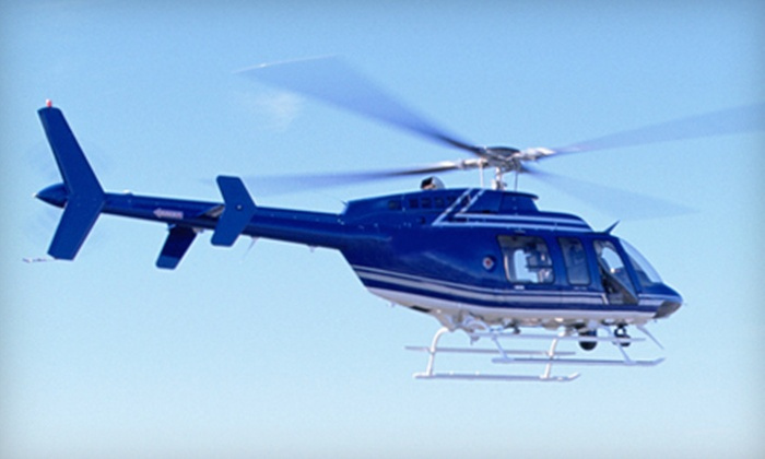 Timberview Helicopters - Northland: $138 for a Romantic Helicopter Flight for Two from Timberview Helicopters ($274.99 Value)
