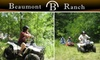 Beaumont Ranch - Grandview: ATV Tour at Beaumont Ranch in Grandview. Choose from Two Options.