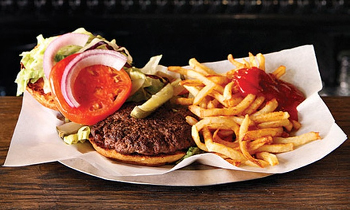 Black Iron Burger Shop - East Village: $19 for a Burger Meal for Two at Black Iron Burger Shop (Up to $40 Value)