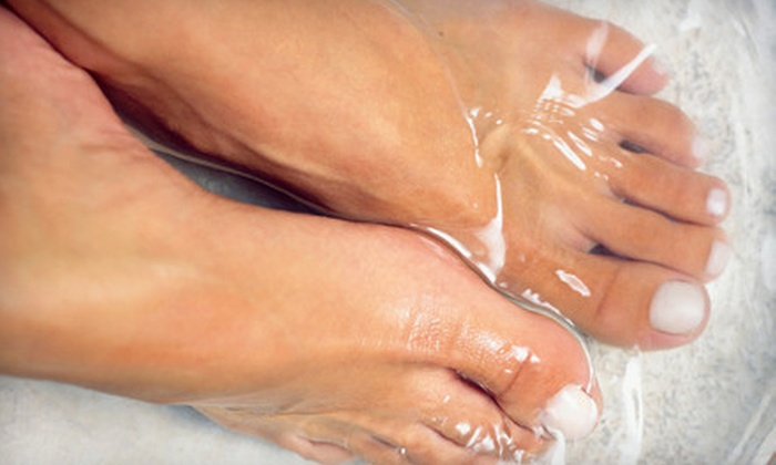 Futzpah 118 - Mira Villas: Sports Pedicure and Paraffin Treatment or Footsie Pedicure at Futzpah 118 (Up to 56% Off)