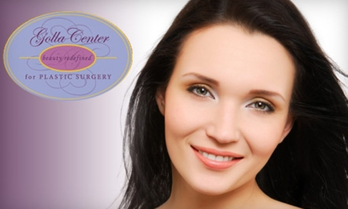 Golla Center for Plastic Surgery - Fox Chapel: $149 for Three Laser Hair-Removal Treatments ($1,050 Value) or IPL FotoFacial ($500 Value) at Golla Center for Plastic Surgery