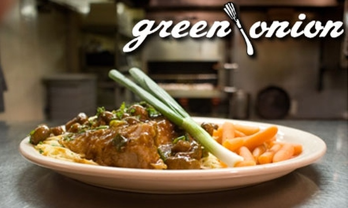 Green Onion - Tulsa: $12 for $25 Worth of Upscale Dishes and Drinks at The Green Onion